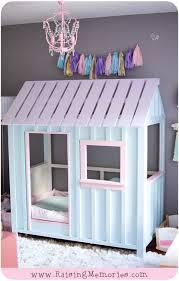 Dollhouse Toddler Bed Raising Memories Pastel Pink Purple And Turquoise Toddler