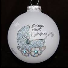 baby s wagon personalized ornament