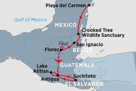 Mexico Central America And South America Map by Central America Tours Travel U0026 Trips Peregrine Adventures En Ca