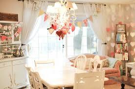 dining room decoration cheerful dining room elegant valentine decoration decoration using