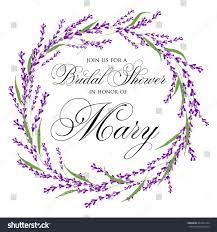 Cards Invitation Bridal Shower Invitation Card Vintage Watercolor Stock Vector