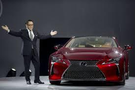 lexus lc ad song naias 2016 automakers ponder future at detroit auto show time com