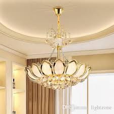 Lotus Chandelier Led Chandelier European American Royal Luxury Gorgeous Led