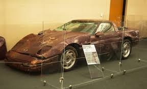 national corvette museum sinkhole national corvette museum reverses itself will fill in sinkhole