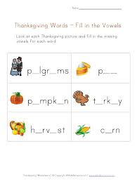 thanksgiving phonics worksheets free worksheets library download