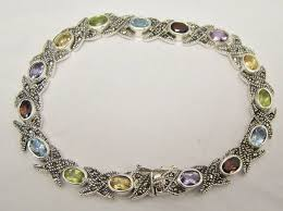 fashion bracelet ebay images 53 best multi gemstone jewelry images gems jewelry jpg