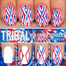 4th of julyfingers 3 easy nail art ideas miss ladyfinger
