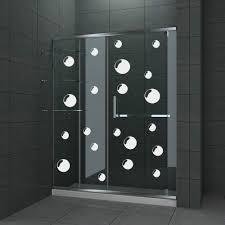 glass door decals stickers bathroom shower door decals u2013 house decor ideas