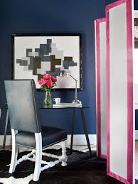 Black And White And Pink Bedroom Incorporating Pink In Every Space Hgtv