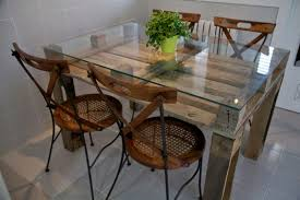 Glass Table Legs Kitchen Superb Pallet Table Legs How To Build End Tables From