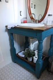 Design Your Own Bathroom Vanity Guest Bathroom How To Build A Farmhouse Vanity All Things New