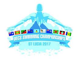 Swimming Logo Design by Oecs Swim Championship 2017 Summons Saint Lucia Amateur Swimming