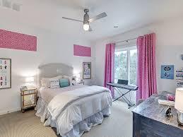 Pink And Grey Girls Bedroom Gray Kids Headboard Design Ideas