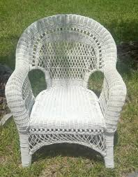Patio Wicker Chairs Contemporary White Outdoor Wicker Furniture The Reality Of