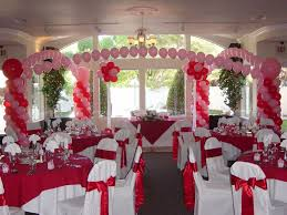 decorations for wedding wedding decor view wedding reception balloon decorations theme