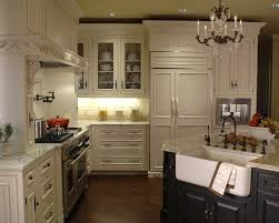 French Style Kitchen Cabinets Black And White Themed French Kitchen Outofhome
