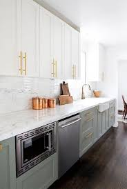 green lower white kitchen cabinets i totally the green lower cabinets combined with