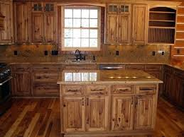 knotty hickory cabinets kitchen rustic hickory cabinet rustic hickory cabinet pictures