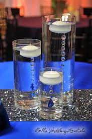 blue centerpieces wedding reception centerpieces wedding centerpiece rentals