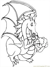 pictures of cartoon dragons coloring home