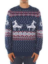 reindeer sweater w