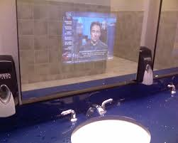 bathrooms tvs inside the mirrors what is next corey brinn dot