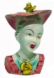 Vintage Lady Head Vases Retro Shopaholic Retro Shop Of The Week The Head Vase Shop