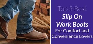 Comfortable Cowboy Boots For Walking Top 5 Best Slip On Work Boots For Comfort And Convenience Lovers