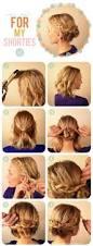simple quick hairstyles for medium length hair medium length hair updos simple updos for medium length hair