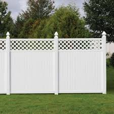 pvc privacy fences installation uk house garden fences design