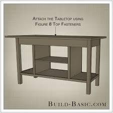 kitchen islands diy build a diy open shelf kitchen island build basic