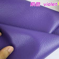 Buy Leather Fabric For Upholstery Aliexpress Com Buy Violet Big Lychee Pattern Pu Synthetic