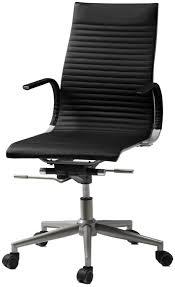 boconcept bureau chaise de bureau contemporaine tapissée avec accoudoirs à