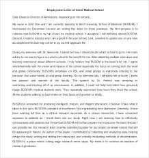 Sle Letter Of Certification Of Attendance Employment Letter Of Intent U2013 9 Free Word Pdf Documents Download