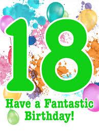 18th birthday card birthday u0026 greeting cards by davia