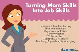 Stay At Home Mom On Resume Example Turning Mom Skills Into Job Skills Elearners