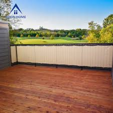 Privacy Screens For Patio by Alion Home Heavy Duty Privacy Screen For Patio Deck Balcony
