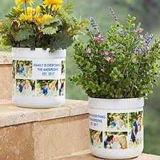personalized flower pot personalized outdoor flower pot picture