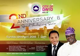 rccg city of david abuja codabuja 2nd year anniversary special