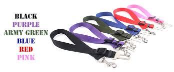 Black Purple Pink Green Peace by Today U0027s Treat Me Pet Seat Belt