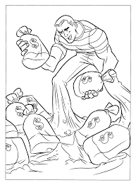 sandman coloring pages