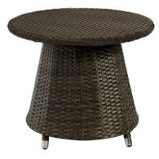 Wicker Accent Table Outdoor Accent Tables On Hayneedle Patio Accent Tables