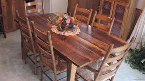 hickory farm table reclaimed wood furniture