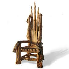 Driftwood Outdoor Furniture by Elaborate Driftwood Throne By Free Range Designs