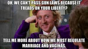 Gay Marriage Meme - gun laws vs gay marriage and vaginas jpegy what the internet was