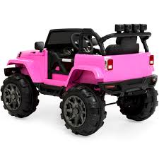 pink camo jeep best choice products 12v ride on car truck w remote control 3