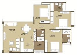 Public Toilet Floor Plan 2 And 3 Bhk Apartments In Ahmedabad Malabar County Ganesh Housing
