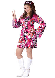 Halloween 70s Costumes Size Feelin Groovy Dress Size Halloween Costumes