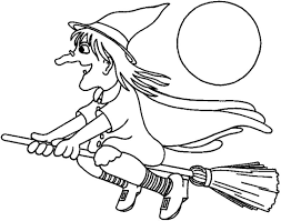 coloring elegant coloring witch halloween pages cool 1