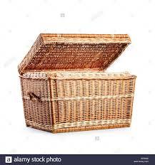 cane laundry hamper empty laundry basket stock photos u0026 empty laundry basket stock